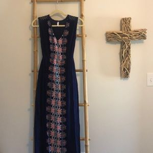 Patterned Maxi dress!